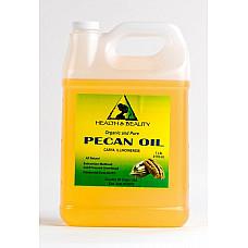 Pecan oil unrefined organic carrier cold pressed virgin raw premium pure 7 lb
