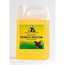 Perilla seed oil organic carrier cold pressed premium fresh 100% pure 7 lb