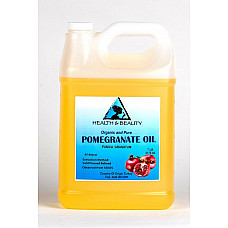 Pomegranate seed oil refined organic cold pressed natural fresh 100% pure 7 lb