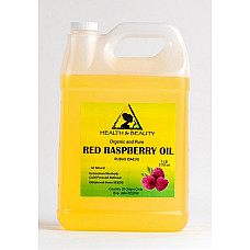 Red raspberry seed oil refined organic carrier cold pressed 100% pure 7 lb