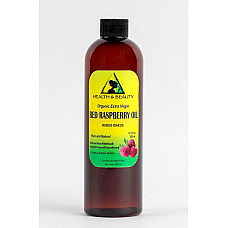 Red raspberry seed oil unrefined organic extra virgin cold pressed pure 12 oz