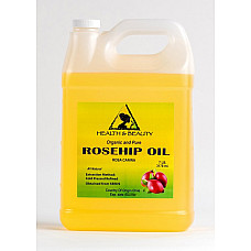 Rosehip seed oil refined organic carrier cold pressed premium 100% pure 7 lb