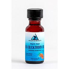 Sea buckthorn oil unrefined organic virgin co2 extracted pure glass bott 0.5 oz