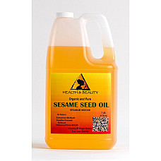 Sesame oil refined organic carrier expeller pressed 100% pure 7 lb