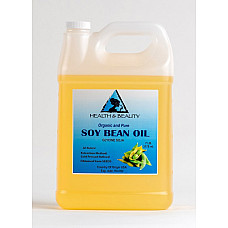 Soybean / soy bean oil organic carrier soy oil cold pressed 100% pure 7 lb