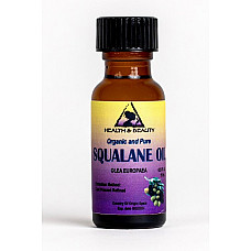 Squalane oil organic olive-derived anti-aging moisturizer cold press 0.5 oz