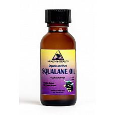 Squalane oil organic olive-derived anti-aging moisturizer cold press pure 1 oz