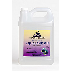 Squalane oil organic olive-derived anti-aging moisturizer cold press pure 7 lb