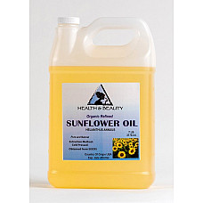 Sunflower oil refined organic carrier cold pressed pure 7 lb