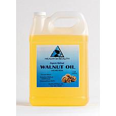 Walnut oil organic carrier cold pressed premium natural pure 7 lb
