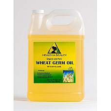Wheat germ oil refined organic carrier cold pressed premium 100% pure 7 lb