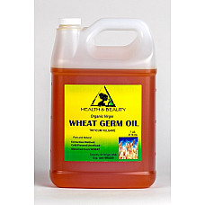 Wheat germ oil unrefined organic carrier cold pressed virgin raw pure 7 lb