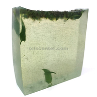 Fresh mint almond oil glycerin soap bar handmade natural moisturizing body skin