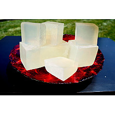 Ultra clear transparent organic glycerin melt & pour soap base 100% pure 25 lb