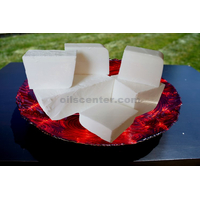 WHITE GLYCERIN MELT & POUR SOAP BASE ORGANIC PURE 25 LB