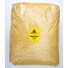 Carnauba wax - T1 organic flakes brazil pastilles beards premium 100% pure 10 lb