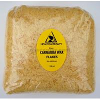 Carnauba wax organic flakes brazil pastilles beards premium 100% pure 24 oz