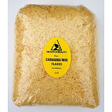 Carnauba wax - T1 organic flakes brazil pastilles beards premium 100% pure 32 oz 2 lb