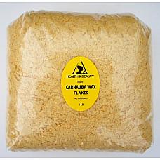 Carnauba wax - T1 organic flakes brazil pastilles beards premium 100% pure 48 oz 3 lb