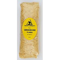 Carnauba wax - T1 organic flakes brazil pastilles beards premium 100% pure 4 oz