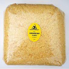 Carnauba wax - T1 organic flakes brazil pastilles beards premium 100% pure 5 lb