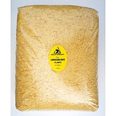 Carnauba wax - T1 organic flakes brazil pastilles beards premium 100% pure 8 lb