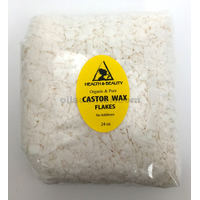 Castor wax flakes organic vegan pastilles beads premium natural 100% pure 24 oz