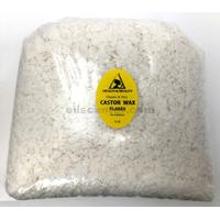 Castor wax flakes organic vegan pastilles beads premium natural 100% pure 5 lb
