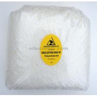 Emulsifying wax nf polysorbate 60 pure polawax 48 oz, 3 lb
