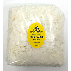 Golden soy akosoy wax flakes organic vegan pastilles for candle making natural 100% pure 24 oz