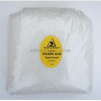 Stearic acid vegetable triple pressed pastilles beards 100% pure 48 oz, 3 lb