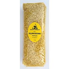 Yellow beeswax bees wax organic pastilles beards premium 100% pure 12 oz