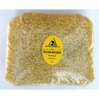 YELLOW BEESWAX BEES WAX ORGANIC PASTILLES BEARDS PREMIUM 100% PURE 48 OZ, 3 LB