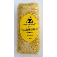 Yellow beeswax bees wax organic pastilles beards premium 100% pure 4 oz