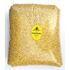Yellow beeswax bees wax organic pastilles beards premium 100% pure 8 lb